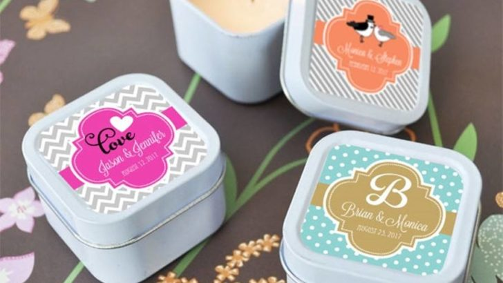 Personalised wedding favours – the secret of a perfect wedding
