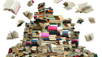 Don't know what to do with all those books? Here are some ideas